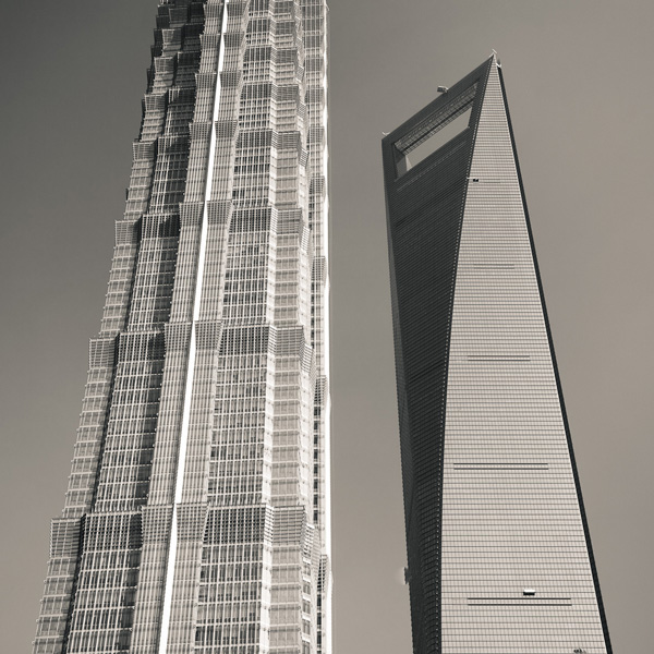 Skyscrapers of Shanghai