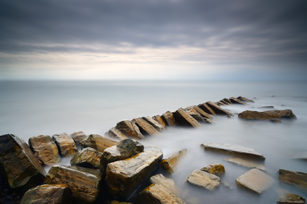 Kimmeridge Steps by Russ Barnes