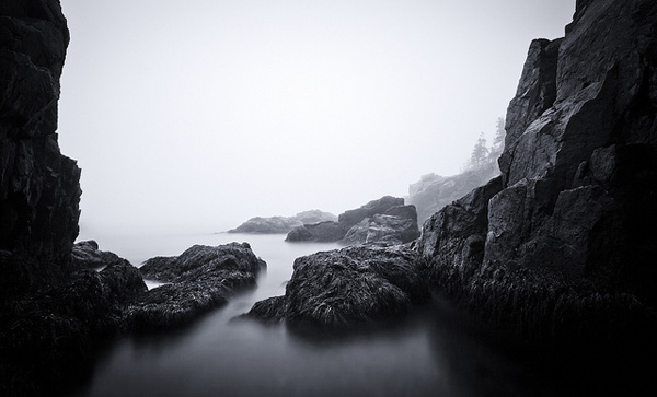 Long exposure photography by Nate Parker