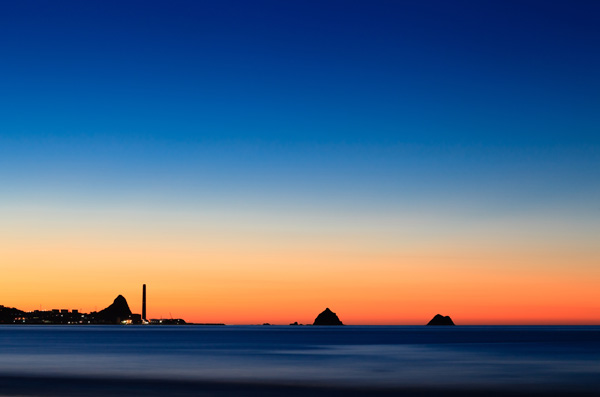 New Plymouth, sunset