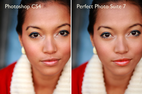 Perfect Photo Suite 7 & Photoshop CS4 comparison