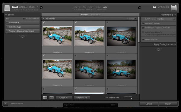 Andrew S. Gibson photography blog How to Speed Up Your Lightroom Workflow with Photo Mechanic ...